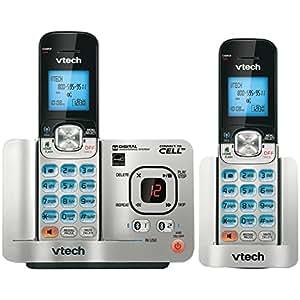VTech DS65212 DECT 6.0 2-Handset Landline Telephone