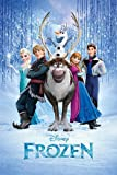 Frozen - Cast 24x36 Poster Disney Movie Art Print