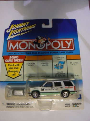 Johnny Lightning Monopoly B&O Railroad Chevy Tahoe