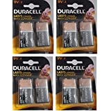 Duracell Alkaline Battery 9v2 Pack Of 4 (8 Cell)