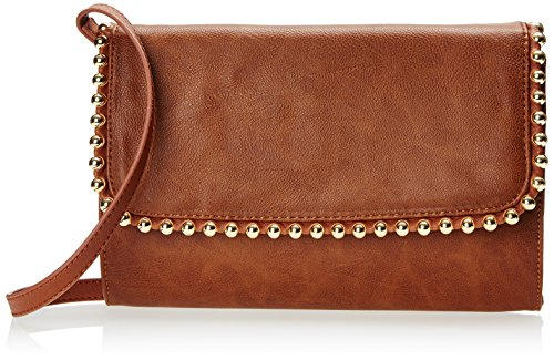 Big Buddha Golda Cross Body Bag, Saddle, One Size