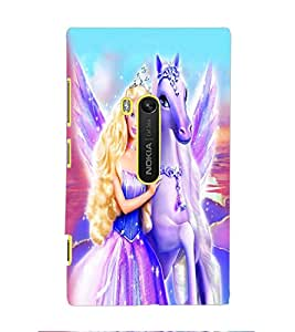 PRINTSWAG ANGEL WITH HORSE Designer Back Cover Case for NOKIA LUMIA 920