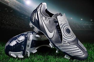 Nike Total 90 Laser II FG Obsidian/Silver Size 6.5