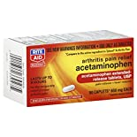 Rite Aid Pharmacy Acetaminophen, Arthritis Pain Relief, 650 mg, Extended Release Tablets, 50 caplets