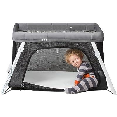 Lotus' Travel Crib and Portable Baby Playard