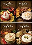 Wind & Willow Dip Mix 4 Flavor Variety Bundle: Cheesy Bacon, Roasted Red Pepper, Asagio and Roasted Garlic, and Fiesta Ranchero (4 Packs Total)