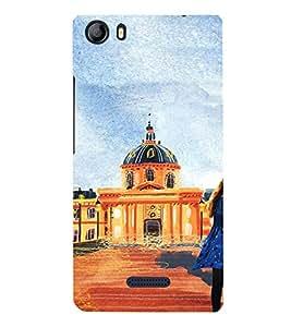 EPICCASE Royal Palace Mobile Back Case Cover For Micromax Canvas 5 E481 (Designer Case)