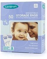 Lansinoh Sacchetti per Latte Materno, Confezione da 50