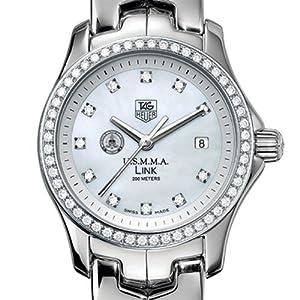 US Merchant Marine Academy TAG Heuer Watch - Women's Link with Diamond