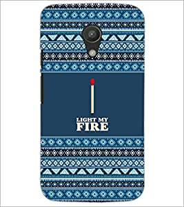 PrintDhaba Quote D-5705 Back Case Cover for MOTOROLA MOTO G2 (Multi-Coloured)