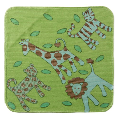 Hooded Towel Jungle Green