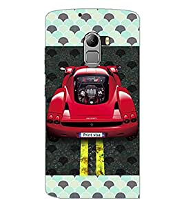 PrintDhaba Car D-4829 Back Case Cover for LENOVO K4 NOTE A7010 (Multi-Coloured)