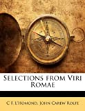img - for Selections from Viri Romae book / textbook / text book