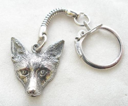 Animal Keychain - Wildlife Keychain Fox