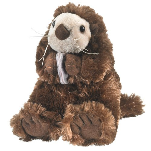 "Sea Otter Plush 12"" Wildlife Artists Stuffed animal Sea Otter"