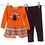 Turkey and Chevron Legging Set