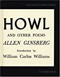 Image of By Allen Ginsberg Howl and Other Poems (City Lights Pocket Poets Series) (40 Anv)