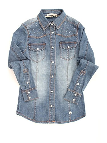 SILVIAN HEACH ONEGON JEANS CAMICIA Bambina JEANS 16Y