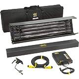Kino Flo 4ft 4Bank Kit (1-Unit) with Soft Case, Universal 230U