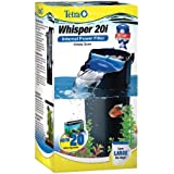 Tetra 25817 Whisper In-Tank Filter with BioScrubber, 10 to 20-Gallon