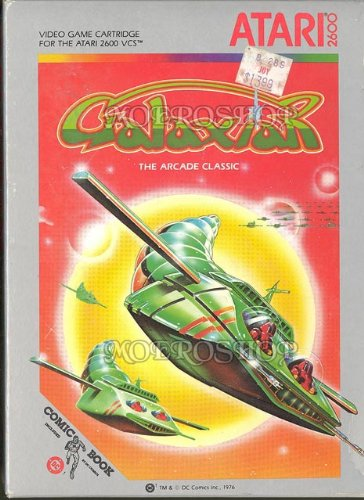 Galaxian the arcade classic - Atari 2600 - PAL
