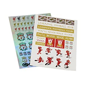 A4 2 Pack Sticker Sheet from Liverpool FC