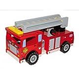 CAL FUSTER - Camión bomberos de madera y complementos