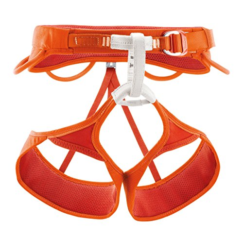 Petzl Sama Men's Climbing Harness (Medium / Coral) (Petzl Climbing Harness compare prices)