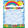 Scholastic TF2121 Rainbow Rules Chart - 17x 22-Inches