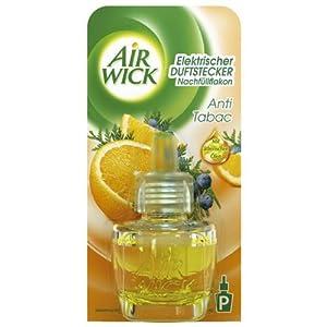 AirWick Duftstecker Anti Tabac Nachfüller 19ml, 3er Pack (3 x 19 ml)