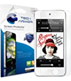 Tech Armor Apple iPod Touch 5th/6th Gen High Defintion (HD) Clear Screen Protectors - Maximum Clarity and Touchscreen Accuracy [3-Pack] Lifetime Warranty