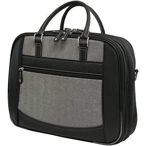 MobileEdge ScanFast Element Briefcase 16/17-Inch Mac - Herringbone, Large (MESFEBHL)