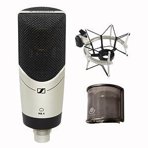 Sennheiser Mk4 Reviews : sennheiser mk4 set cardioid condenser large diaphragm microphone with mks4 ~ Russianpoet.info Haus und Dekorationen