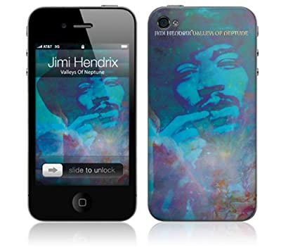 MusicSkins iPhone 4/4S 用保護フィルム Jimi Hendrix - Valleys of Neptune iPhone 4/4S MS-JIMI70133