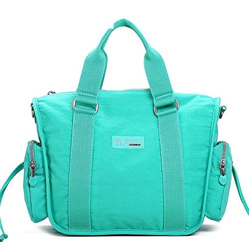 KIU Ladies sac à bandoulière grande capacité /Sac en toile nylon/ Travel and leisure sacs /Sac bandoulière