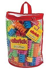 Ecoiffier Abrick 150 PC Half Moon Bag, Multi Color