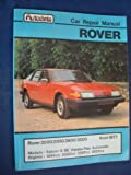 Rover Car Repair Manual 2000/2300/2600/3500