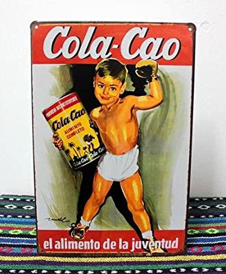 The Sign Cola Cao tin sign 8*12inch