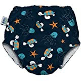 My Swim Baby Diaper New Sizing, Navy Sea Friends, XX-Large