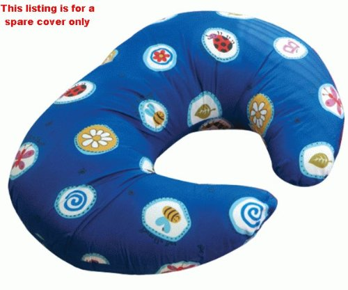 Widgey Nursing Pillow Spare Cover - Blue Fossil