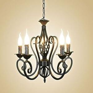 Ecopower Elegant Simplicity Antique Orb Color Wrought Iron