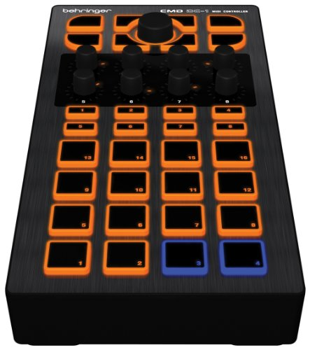 Behringer Cmd Dc1 Pad-Based Midi Module With Effects And Navigation Control front-213143