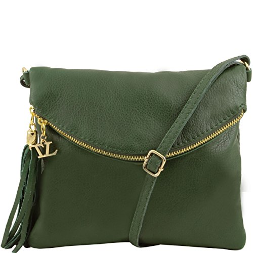 tuscany-leather-tl-young-bag-borsa-a-tracolla-con-nappa-verde-scuro-borse-donna-a-tracolla