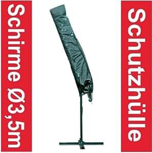 wetterfeste schutzh lle f r ampelschirm 350cm schirm sonnenschirm h lle abdeckung. Black Bedroom Furniture Sets. Home Design Ideas