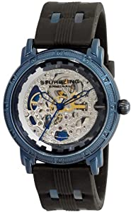 Stuhrling Original Men's 165c.33x62 Classic Winchester Cavalier Automatic Skeleton Black Watch: Watches: Amazon.com