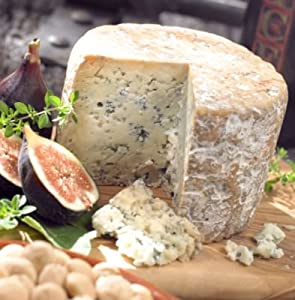 Cabrales Blue Cheese from Asturias, D.O., (1.2 pound wheel)