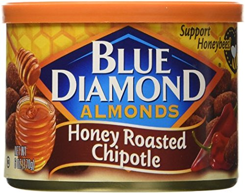 Blue Diamond Honey Roasted Chipolte Almonds - 2 Pack (Chili Honey Almonds compare prices)