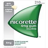 Nicorette High Strength Original-Gum 4mg 210 pro Packung