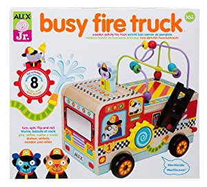 Alex toys jr my busy fire truck toys games for Alex co amazon