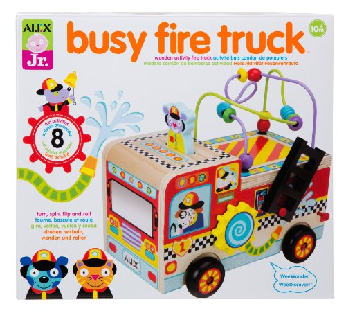 ALEX Toys ALEX Jr. Busy Fire Truck Activity Center